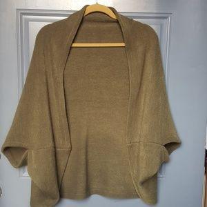 Sweaters - shrug,  olive green,